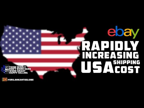 Rapidly Increasing USA Shipping Cost