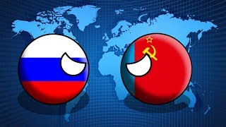 видео: COUNTRYBALLS | Будущее Мира | 1 сезон 8 серия | СССР или Россия?