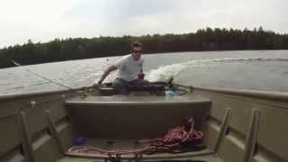 Tracker 1436 Jon Boat with Johnson 15hp Outboard