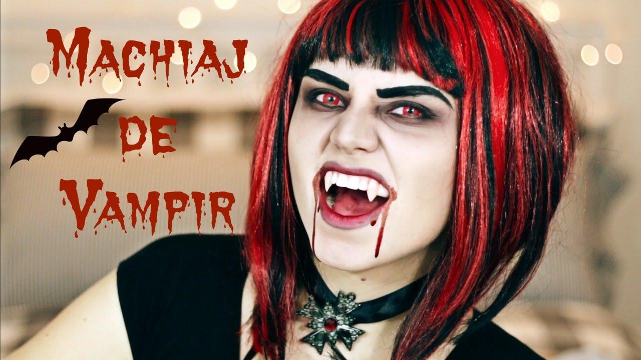 Machiaj De Vampir Halloween Youtube