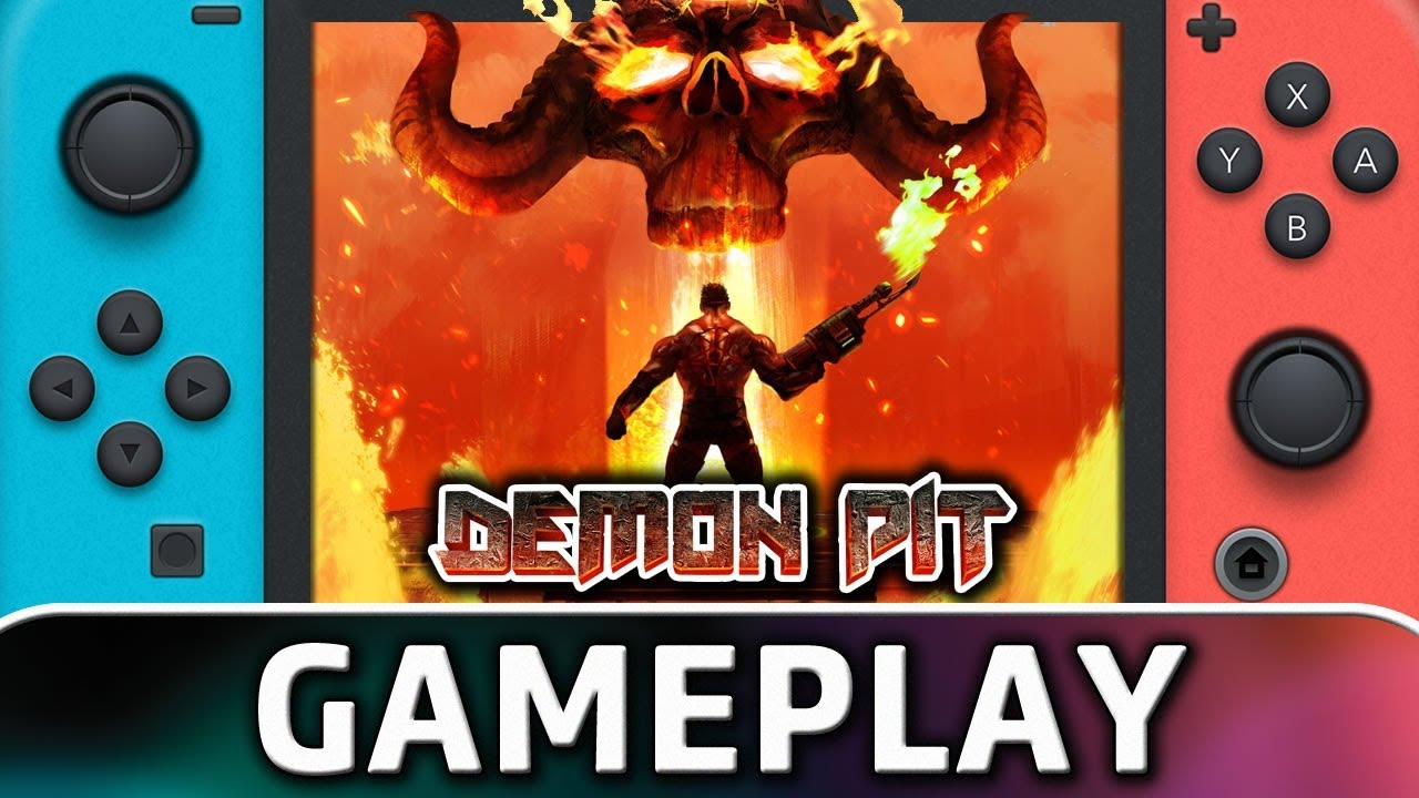 Demon Pit | 5 Minutes of Gameplay on Nintendo Switch