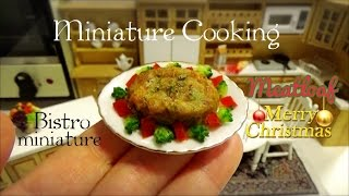 【Miniature Cooking show】 The miniature dish which can be eaten re...