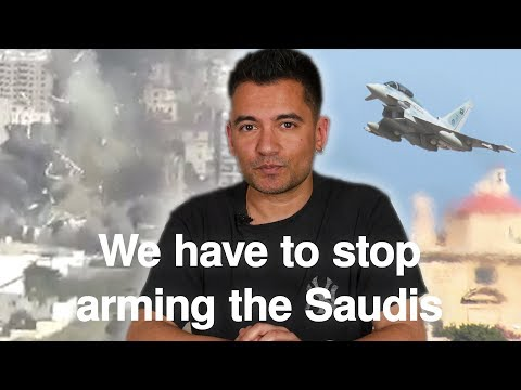 We have to stop arming the Saudis