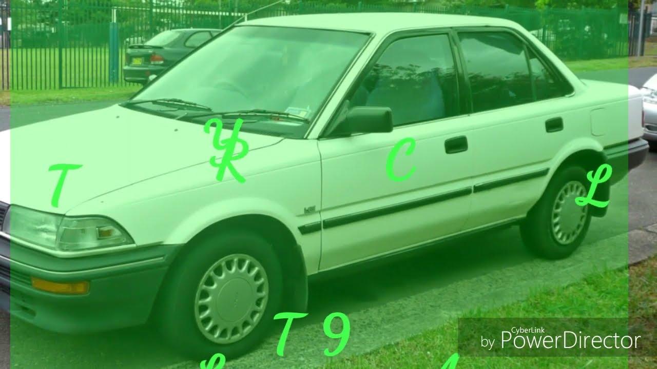 Kelebihan Toyota Corolla 1990 Review