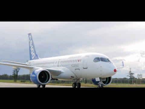 Bombardier Showcases CSeries Aircraft to Republic Airways