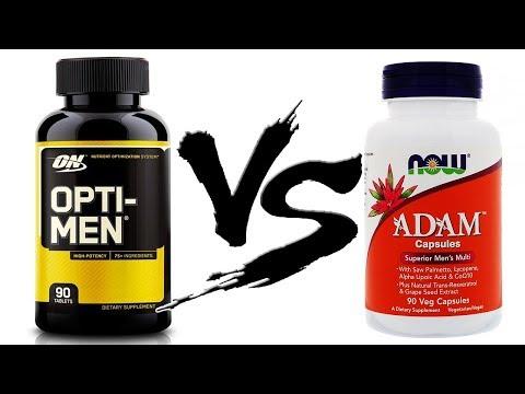 Opti-men или Adam Какие ВИТАМИНЫ Лучше Выбрать