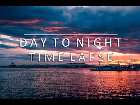 Day to Night Timelapse 4k | Greece | Kastela Peiraias