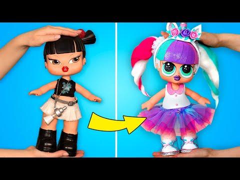 ตุ๊กตา LOL UNICORN DOLL ยักษ์: งาน DIY ที่ไม่ต้องใช้การเย็บ