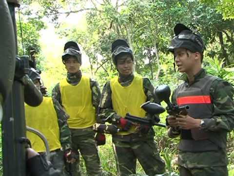 Tour Du Lịch Đà Nẵng - Bắn súng sơn trong rừng nguyên sinh Sơn Trà
