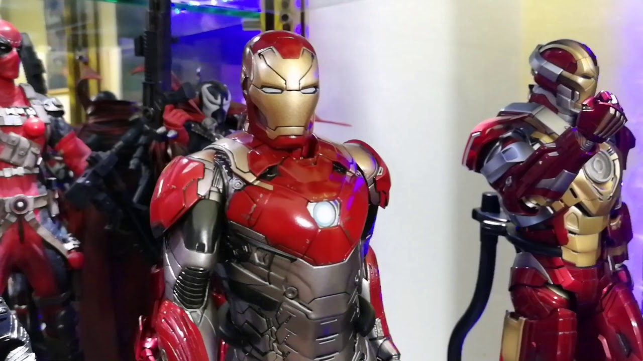 1//6TH SPIDERMAN HOMECOMING IRON MAN MARK XLVII 47 BY CRAZY TOYS DOLL STATUE MODE