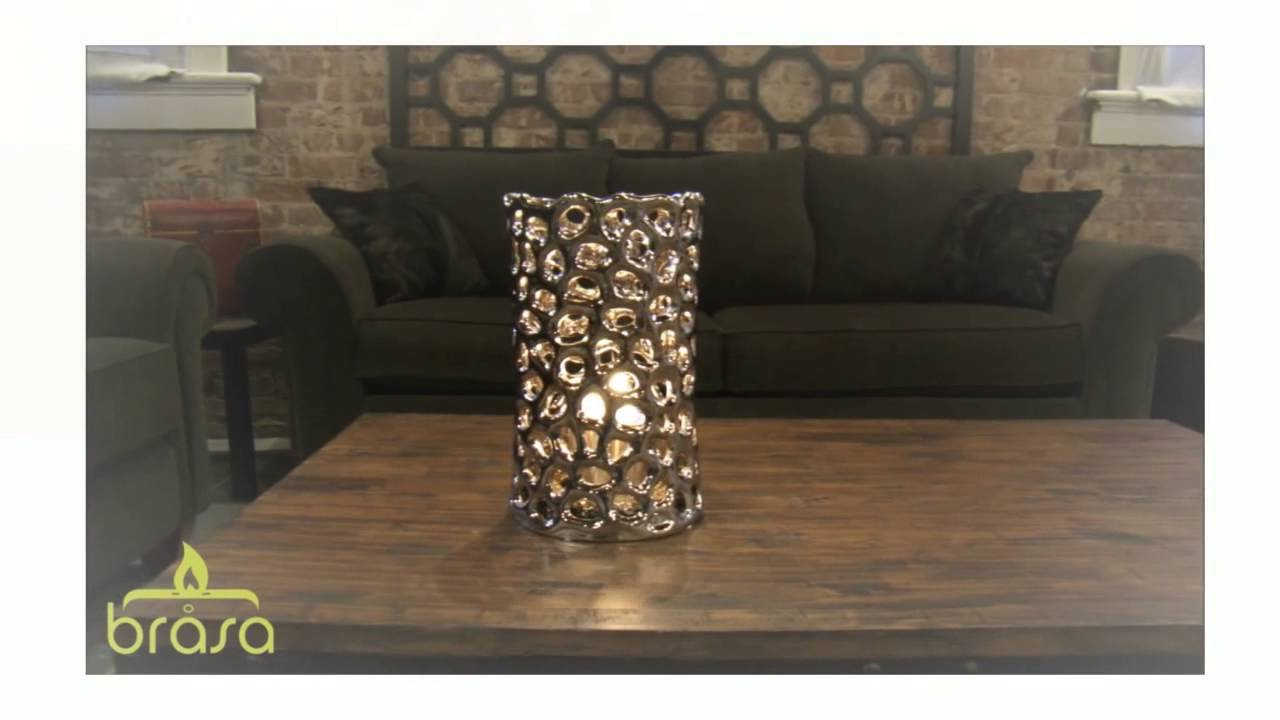 bio ethanol shadow lanterns by brasa fire youtube. Black Bedroom Furniture Sets. Home Design Ideas