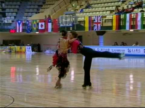 Heather Menard & Kyle Turley.DO.Mundial 2008.Parejas Danza.HIGH QUALITY