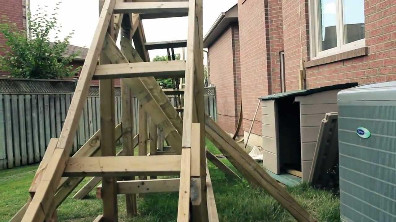 minotaur a backyard roller coaster youtube