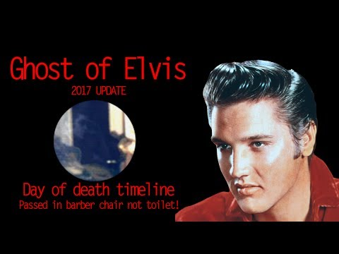 Ghost of Elvis Presley.