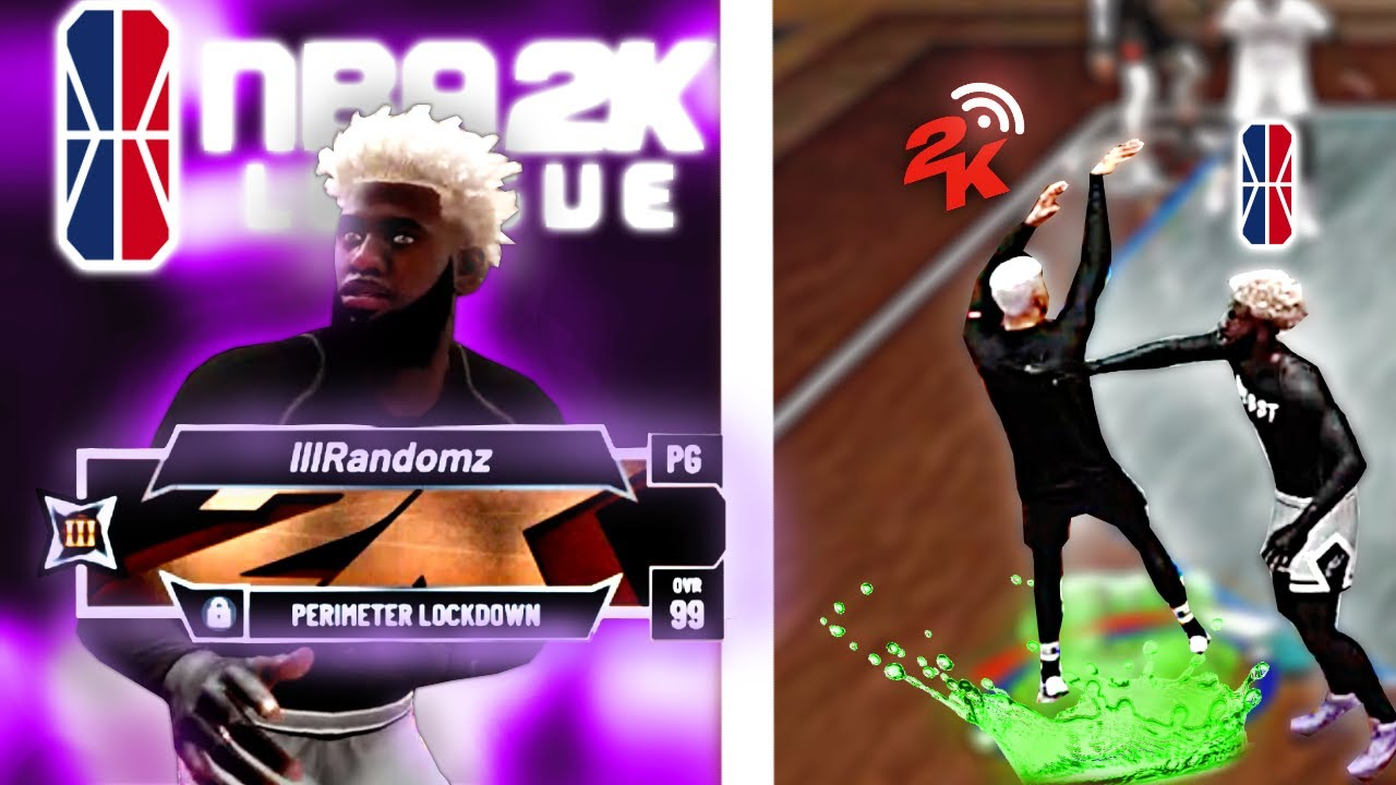 I played against the best lock on 2k..........a 2K LEAGUE PRO LOCK?.....& it made me 10x better!