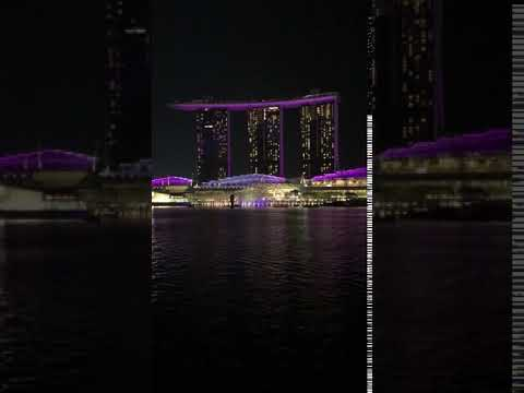 MBS light show | Anthony S Casey Singapore