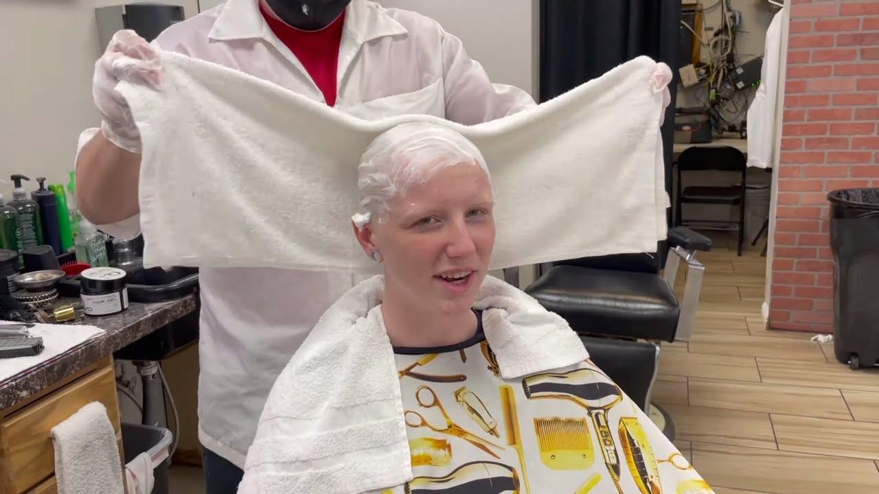 Nellie LV 6: Shaves Her Blonde Hair Off  (YT Original)