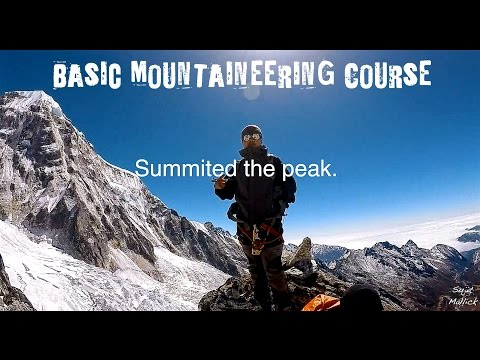 Basic Mountaineering Course at Himalayan Mountaineering Institute (HMI)