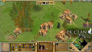 Age of Mythology: 4v4 on Marsh   Defending Athena Rush
