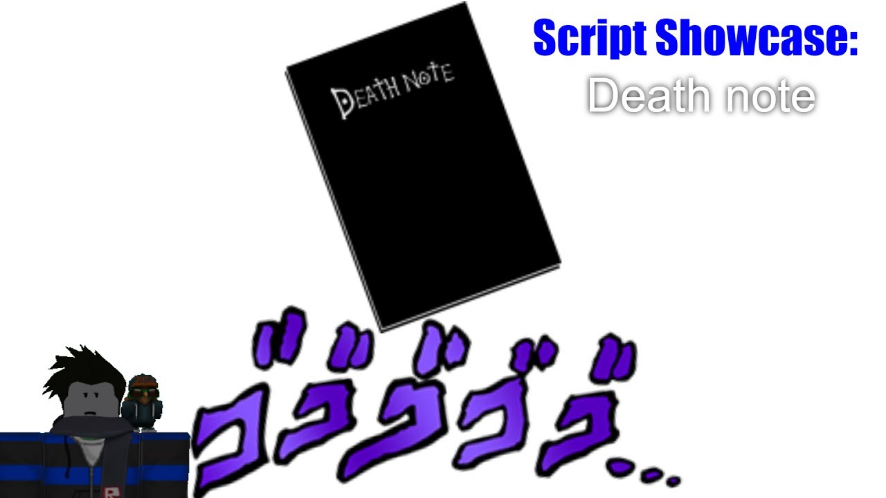 Felipe Script Roblox Pastebin Roblox Script Showcase Death Note Youtube