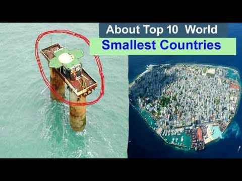 Top 10 smallest countries in the world | smallest countries top list