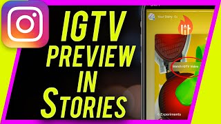 how-to-share-igtv-preview-in-stories-new-instagram-update