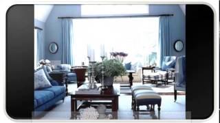 Blue Modern Furniture Living Room Sets