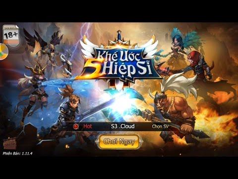 Trải Nghiệm Game Mobile 5 Hiệp Sĩ - Khế ước 5 Hiệp Sĩ