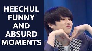 Super Junior 슈퍼주니어  KIM HEECHUL Funny,Cute and Absurd Moments