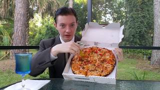 Papa John's Bacon Cheddarburger Pizza - Food Review