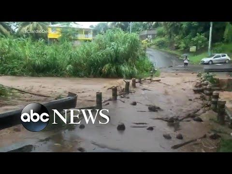 Dorian inundates Martinique