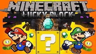 Minecraft รีวิว MOD : LUCKY BLOCK! - กล่องวัดดวง!