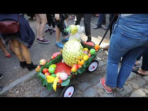 Halloween dog parade Tompkins Square Park 10- 21-17