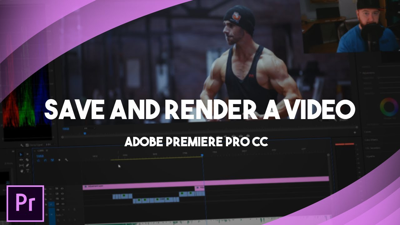 how to render video in adobe premiere pro cc