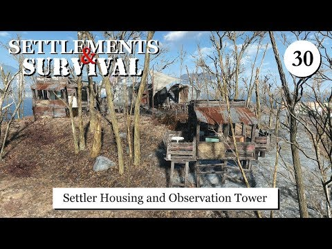 Settlements and Survival - Settler Housing and Platform