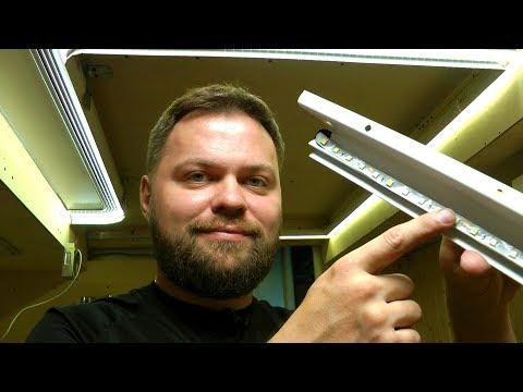 Парящий натяжной потолок своими руками часть №3: куда клеить ленту на ПК-6, и её мощность