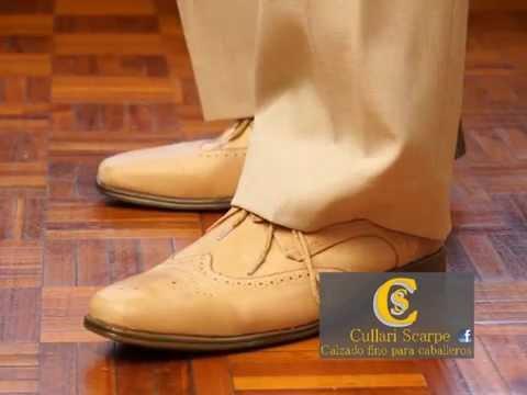 ee353b289d9a9 Cullari Scarpe. Fabrica de calzado fino para hombres. - YouTube