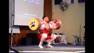 Lasha Talakhadze Georgian Weightlifter +105