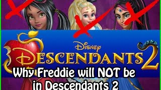 Descendants: Wicked World - Why Freddie, Ally and Jordan will NOT be in Descendants 2!