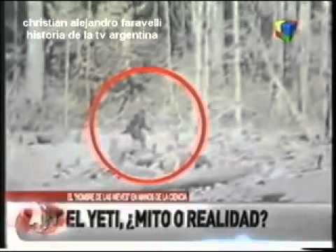 HISTORIA DE LA TELEVISIÓN ARGENTINA: EL YETI ¿MITO O REALIDAD? USTEDES DIRÁN  2012