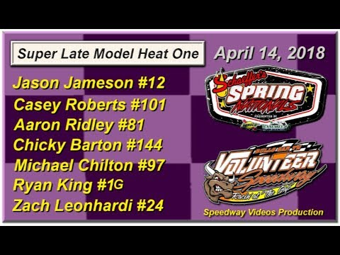 Spring National Series Heat 1 @ Volunteer Speedway April 14, 2018