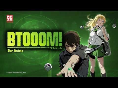 Btooom! (Anime) -- Trailer HD