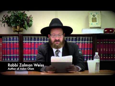 Adon Olam: Rabbi Zalman Weiss MBPromo