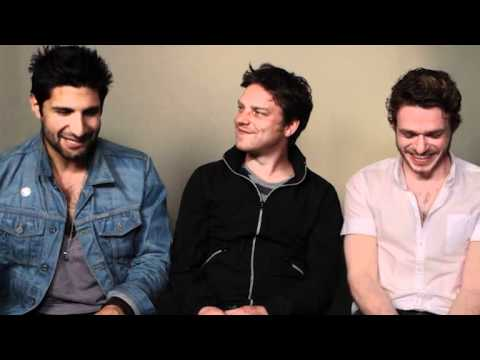 Sirens Cast   Kayvan Novak, Rhys Thomas, Richard Madden