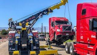 Truck Needs A Lift! Rotator Style