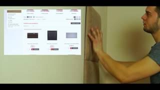 DIY - Jak zamontować panele tapicerowane / wezgłowie