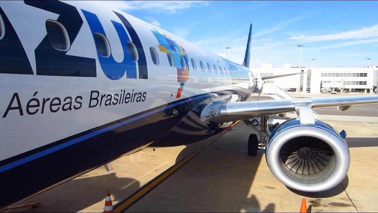 Resultado de imagen para Azul voo E195