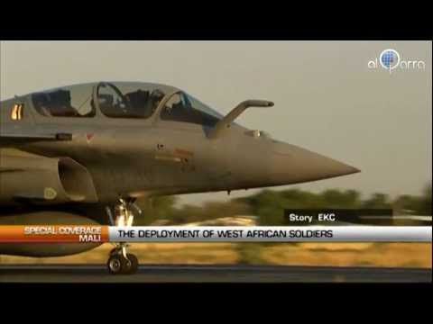 Mali: The deployment of west african soldiers