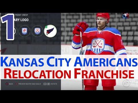 NHL 17 Carolina Hurricanes (Kansas City Americans) Relocation Franchise Livestream Ep. 1