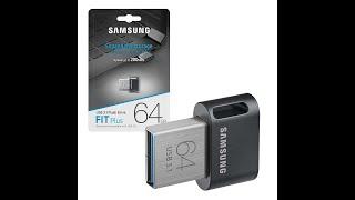Samsung 64GB Fit Plus USB 3.1 Flash Drive - 200Mb/s